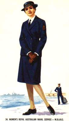 34. women's royal australian naval service - w.r.a.n.s