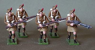 Toy Soldiers - Scottish Regiments of the British Army